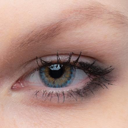 Цветные линзы EOS Aster Blue